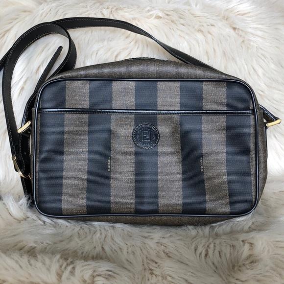 26caaadabc7c Fendi Handbags - Vintage Fendi Cross Body Bag